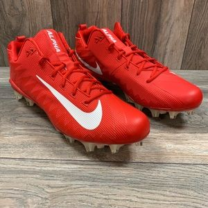 Nike Alpha Menace Pro Low TD Football Cleats Red